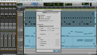18. MIDI Quantization: Quantize Grid & Options
