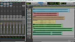 18. A Typical Mastering Session in Pro Tools I