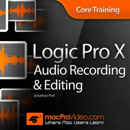 Logic Pro X 103 Core Training: Audio Recording and Editing Product Image