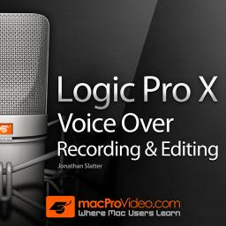Logic Pro X 305 Voiceover Recording and Editing Product Image