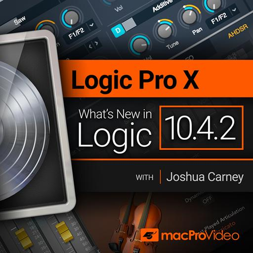 Logic Pro X 10.4.2: What's New in Logic 10.4.2