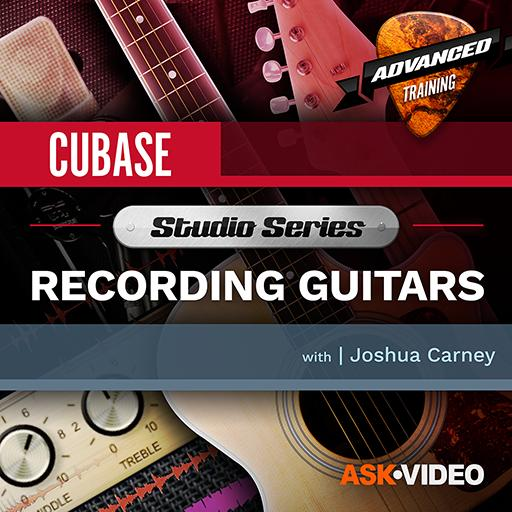 Cubase 10 501: Studio Series - Recording Guitars