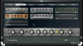 10. VST Bass Amp Models, Microphones and Pedals