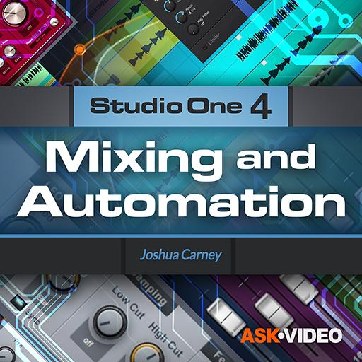 Studio One 4 104: Mixing and Automation