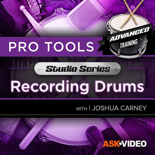 Pro Tools 503: Studio Series - Recording Drums