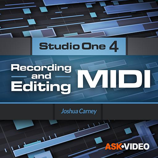 Studio One 4 102: Recording and Editing MIDI
