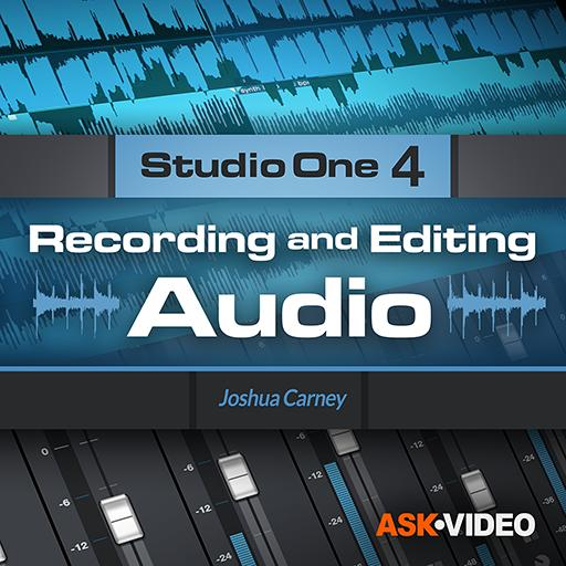 Studio One 4 103: Recording and Editing Audio