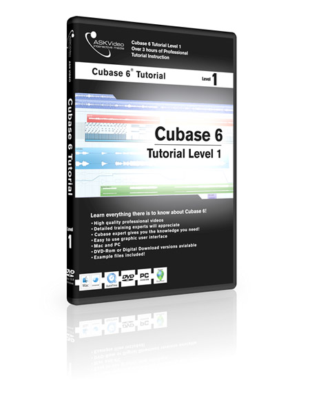 Cubase 6 501 - Working with Cubase 6 - Level 1