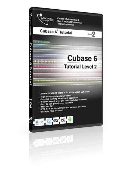 Cubase 6 502 - Working with Cubase 6 - Level 2