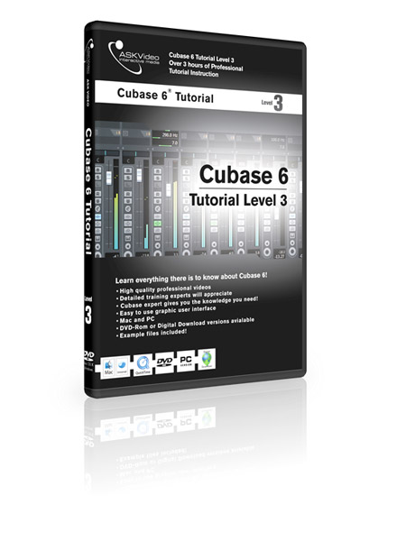 Cubase 6 503 - Working with Cubase 6 - Level 3