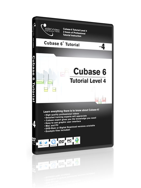 Cubase 6 504 - Working with Cubase 6 - Level 4