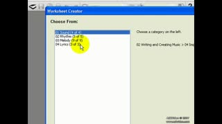 15. WorkSheet Creator: Fun & Games