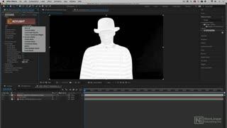 13. Adjusting the Screen Matte Parameter