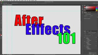 18. After Effects/Photoshop Dynamic
