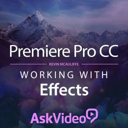 Premiere Pro CC 103Working with Effects Product Image