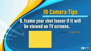 11. Framing and Camera Angle Tips