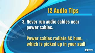 15. About Audio Cables