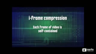 13. I-Frame Compression