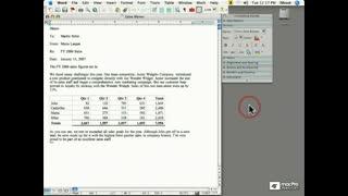 22. Using Word's Scrapbook