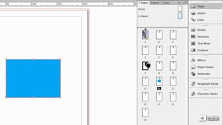16. Adding and Deleting pages using the Pages Window