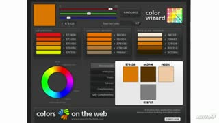 17. Using the ColorsOnTheWeb.com Color Wizard