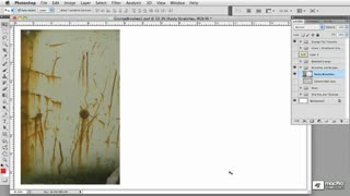 28. Creating Scratches from Photographic Textures