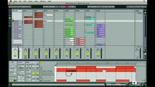 115. MIDI Editor Grid