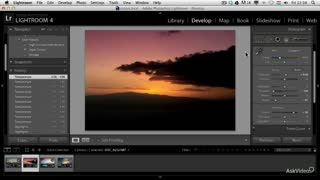 11. Artistic Sunset Adjustments