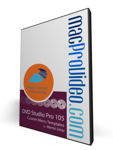 DVD Studio Pro 105 - Custom Menu Templates