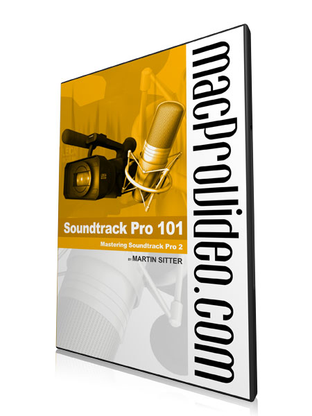 Soundtrack Pro 101 Core Soundtrack Pro 2 Product Image