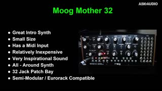 2. Moog Mother 32 / song preview / interfaces used
