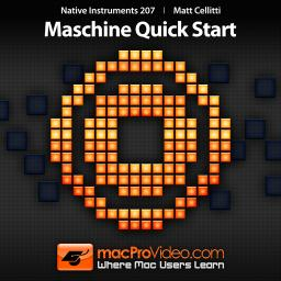 Native Instruments 207 Maschine Quick Start Product Image