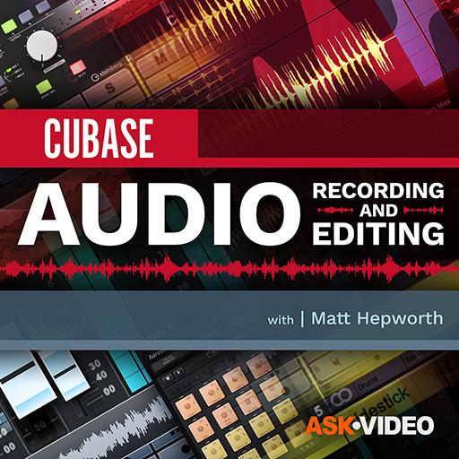 Cubase 10 103: Audio Recording and Editing