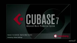 1. Welcome to Cubase 7 103