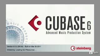 1. Introduction to Cubase 6