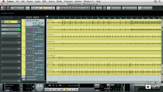 23. Quantizing a Multitrack Drum Project