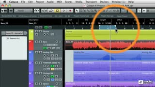 26. Setting Locators for Mixdown  Region