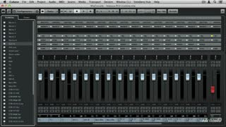 4. Overview of the MixConsole