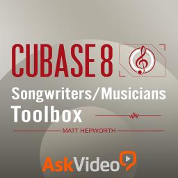 Cubase 8 102Songwriters/Musicians Toolbox Product Image