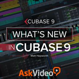 Cubase 9 100What's New in Cubase 9 Product Image