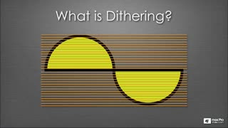 14. The Concept of Dithering