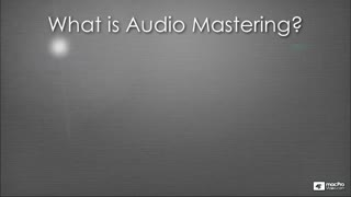 Cubase 5 401: Mastering in Cubase - Preview Video