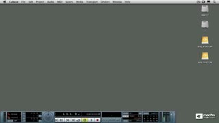 30. Creating a Cubase Project for the Next Chapters