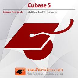 Cubase 5 First Look Overview of Cubase 5 Product Image