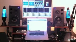 25. Studio Monitor Setup