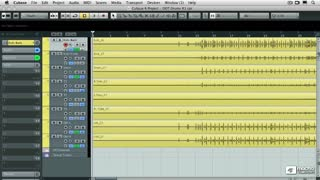 2. Multitrack Audio Quantize and Group Editing