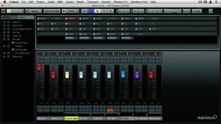 28. Resetting Channels or the Entire MixConsole