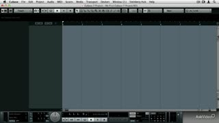 5. The New Cubase 7 Color Space