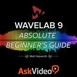 WaveLab 9 101Absolute Beginner's Guide Product Image