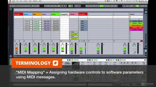 9. MIDI Mapping with Ableton Live